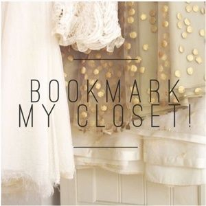 Other - ❤Like this to bookmark my closet!❤